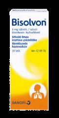 BISOLVON 8 mg tabl 20 fol