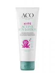 ACO SUN Kids Active sun lotion spf 50+ 125 ml